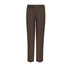 Single Pleat Regular Fit Trousers